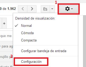 Cuenta en Gmail