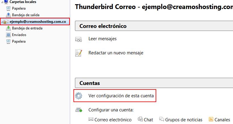 Thunderbird Editar